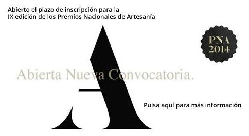 Anuncio Premiso Nacionales de Artesanía2014