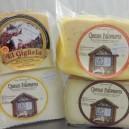 Lote quesos Curado, semi, tierno y en aceite 2,5 kg.