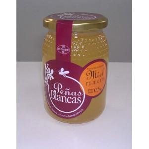 Miel de Romero - Caja de 12 tarros de 0,5 Kg