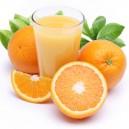 Naranjas recién recogidas