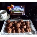 Moncayicos con almendras y chocolate