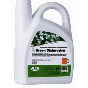 Lavavajillas a mano concentrado ecológico Green Dishwasher- Caja 4 botellas 5 kilos
